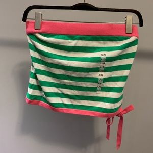 Tommy Hilfiger striped tube top